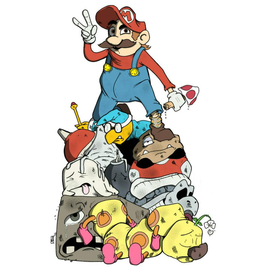 Mario by jhammondART