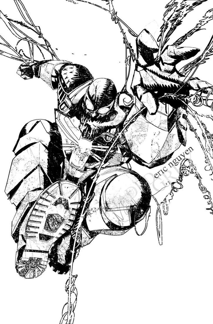 Agent Venom by evnaccd