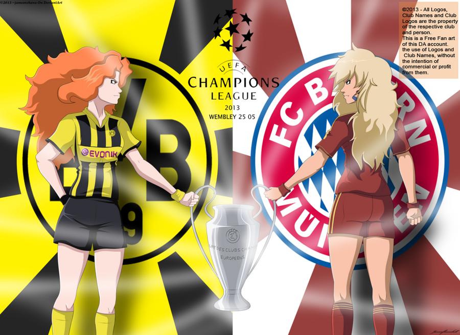UCL FINAL: Borussia Dortmund
