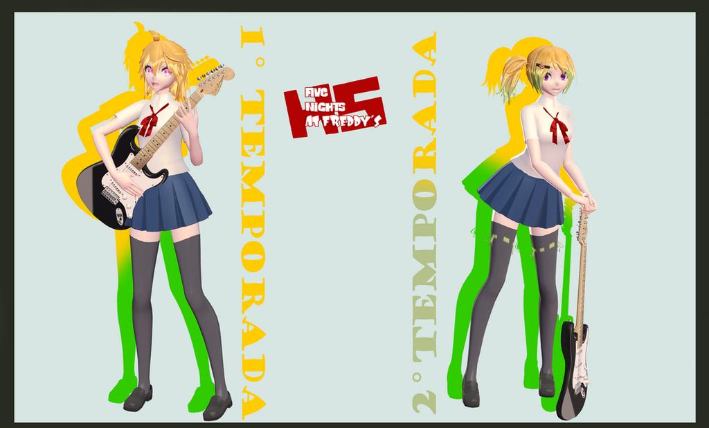 MMDxFNAFHS - Chica (DL) by xXBaeGirlXx