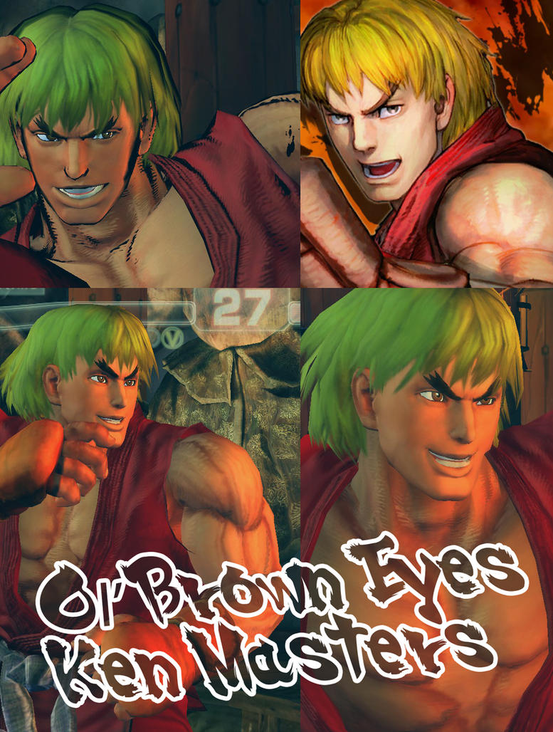 Ol' Brown Eyes - Ken Masters by lorcan13