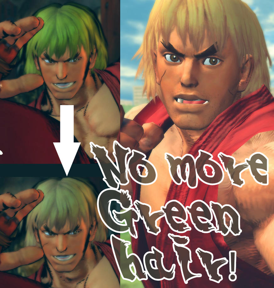 Ken NoGreenHair BrownEyes by lorcan13