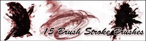 15 Brush Strokes Brushes