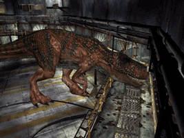 DINO CRISIS 2 Giganotosaurus  Fire Damage