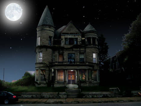 Day for Night House Photoshop