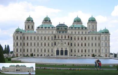 Belvedere-Palace by zmtejani