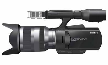 Sony NEXVG10 Handycam Vector by zmtejani