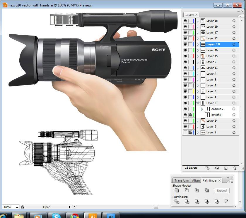 Sony Handycam Vector by zmtejani
