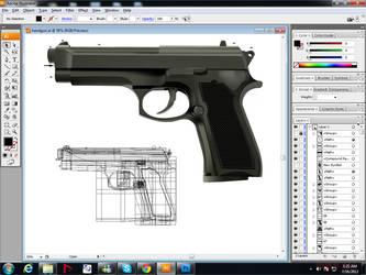 GUN vector by zmtejani