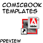 Comicbook Storyboard Template by Louisisthebest007