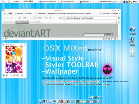 OSX MiXed'vISUAL sTYLE..