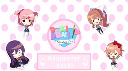 (Rainmeter) DDLC Pack 1.3 (Beta)
