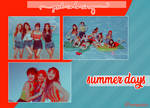 PSD Coloring 1: Summer Days