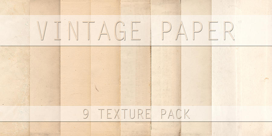 Vintage Paper Texture Pack by S3PTIC-STOCK