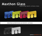Maxthon Browser Glass Dock