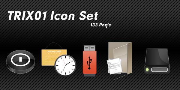 TRIX01 Icon Set by opelman