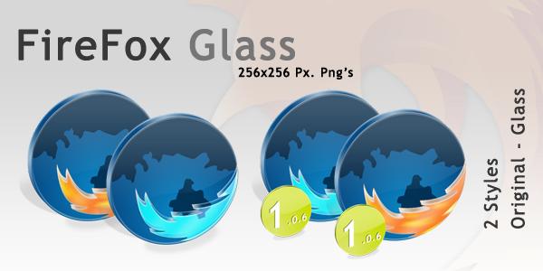 FireFox Browser Glass by opelman