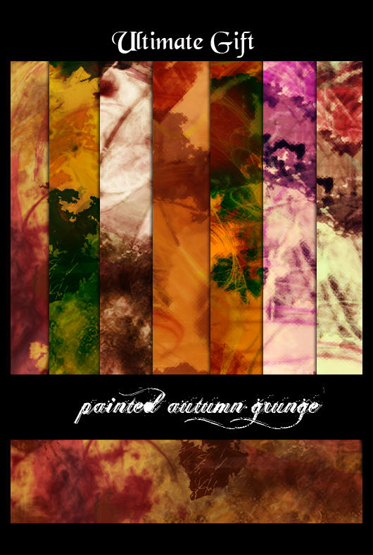 painted autumn grunge by ultimategift