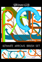ultimate arrows brush set by ultimategift