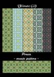 Persia - ornate patterns -