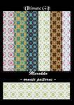 Marokko - ornate patterns -