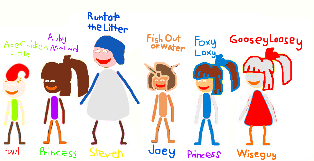Chicken Little Goanimate Stick Figures By Katiefan2002 On Deviantart