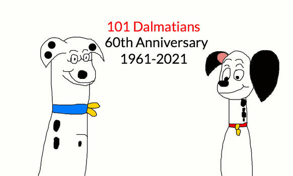 The 60th Anniversary of 101 Dalmatians