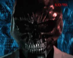 Black Mask (Batman: Arkham Origins) Cosplay GIF