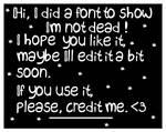 Trienie Font