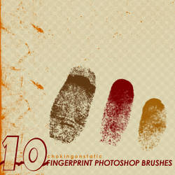 fingerprint brushes by chokingonstatic