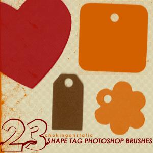 shape tag brushes by chokingonstatic