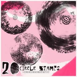 circle stamp brushes