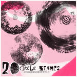 circle stamp brushes