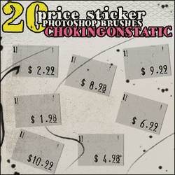 price sticker brushes
