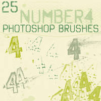 number 4 brushes