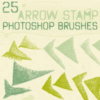 arrow stamp brushes