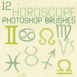 Horoscope Photoshop Brushes