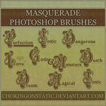masquerade text brushes