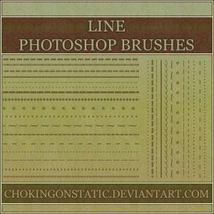 border line brushes