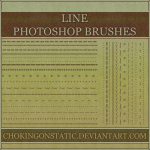 border line brushes by chokingonstatic