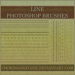 border line brushes