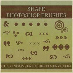 shape brushes 1