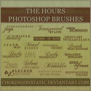the hours quote brushes by chokingonstatic