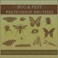 bug brushes by chokingonstatic
