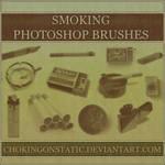 smoking brushes