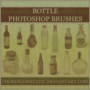 bottle brushes by chokingonstatic