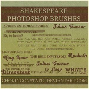 Shakespeare brushes by chokingonstatic