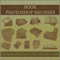 book brushes by chokingonstatic