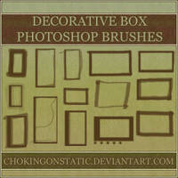 decorative box brushes by chokingonstatic