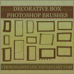 decorative box brushes